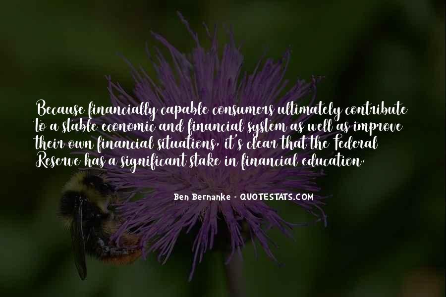 Bernanke Quotes #286410