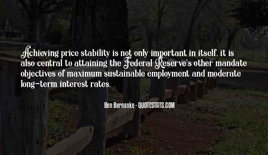 Bernanke Quotes #292306