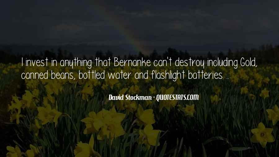 Bernanke Quotes #308428