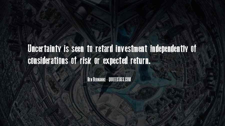 Bernanke Quotes #317010