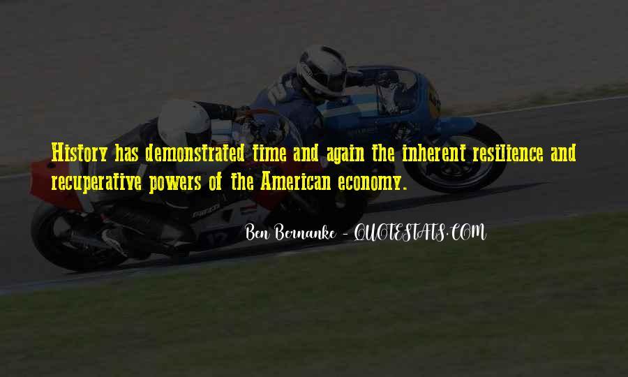 Bernanke Quotes #326287