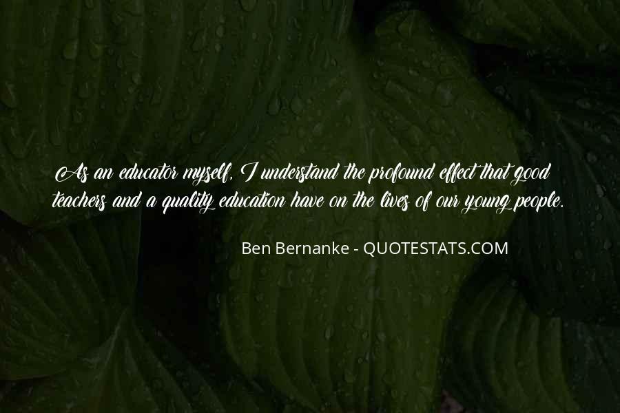 Bernanke Quotes #350222