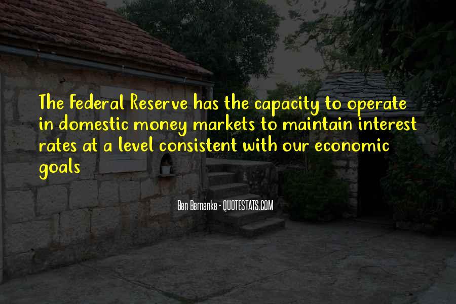 Bernanke Quotes #353549