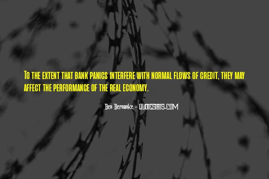 Bernanke Quotes #363405