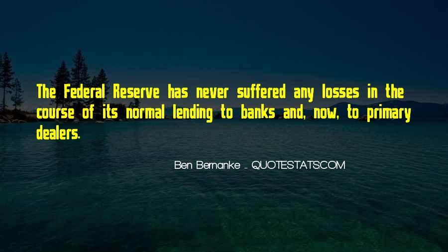 Bernanke Quotes #373913