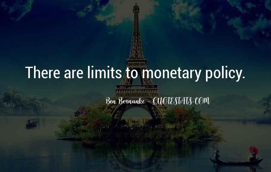 Bernanke Quotes #403610