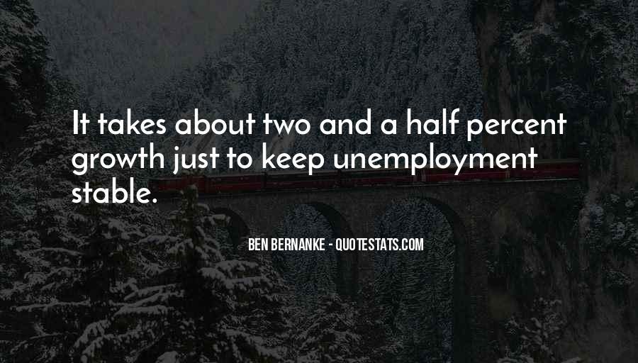 Bernanke Quotes #407862