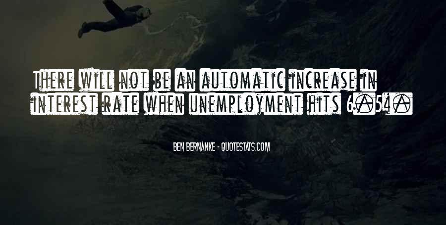 Bernanke Quotes #556184