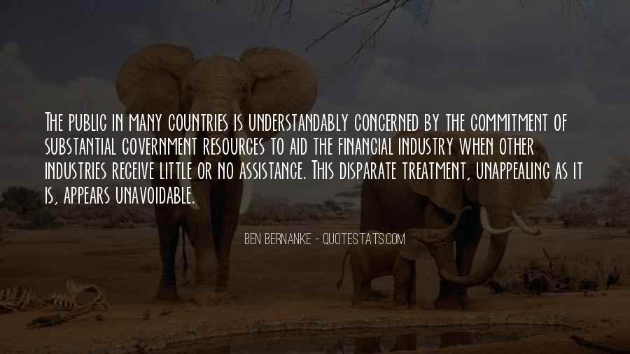 Bernanke Quotes #580838