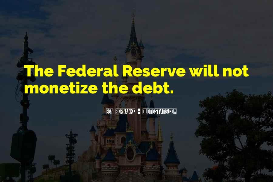 Bernanke Quotes #614463