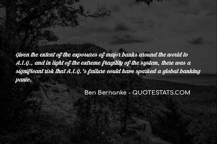 Bernanke Quotes #88942