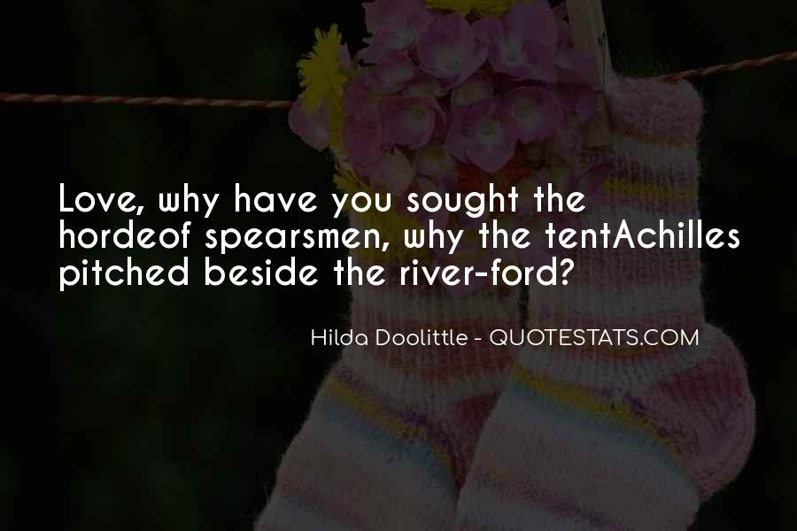 Beside The River Quotes #1367028