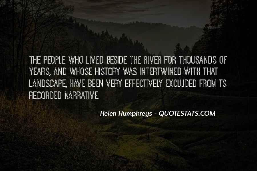 Beside The River Quotes #974736