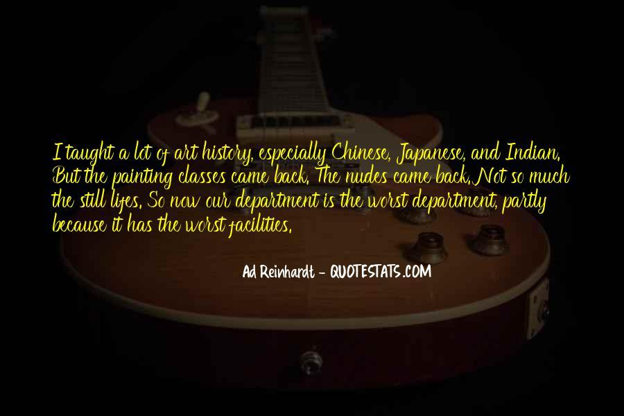 Best Ad Reinhardt Quotes #1408916