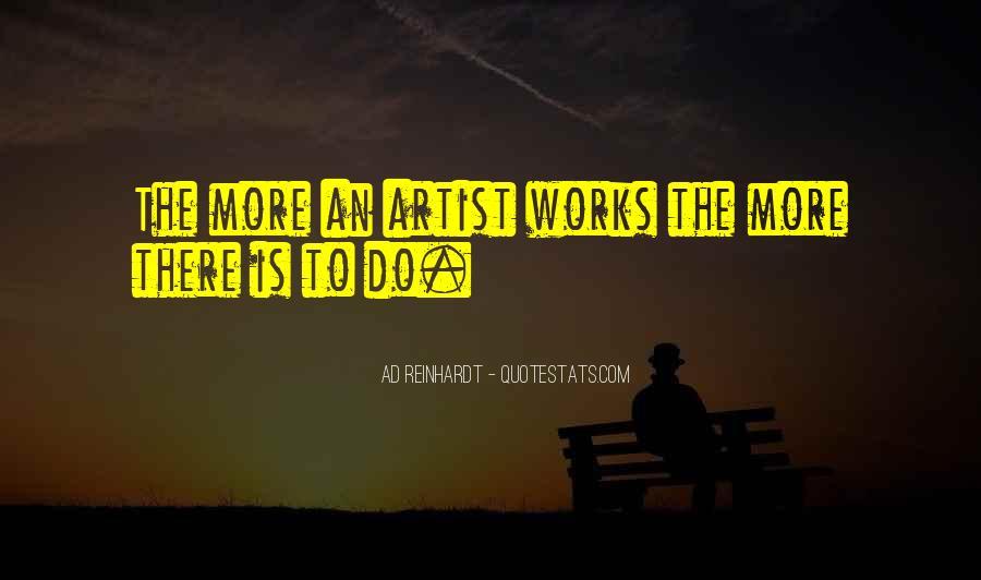 Best Ad Reinhardt Quotes #1503856