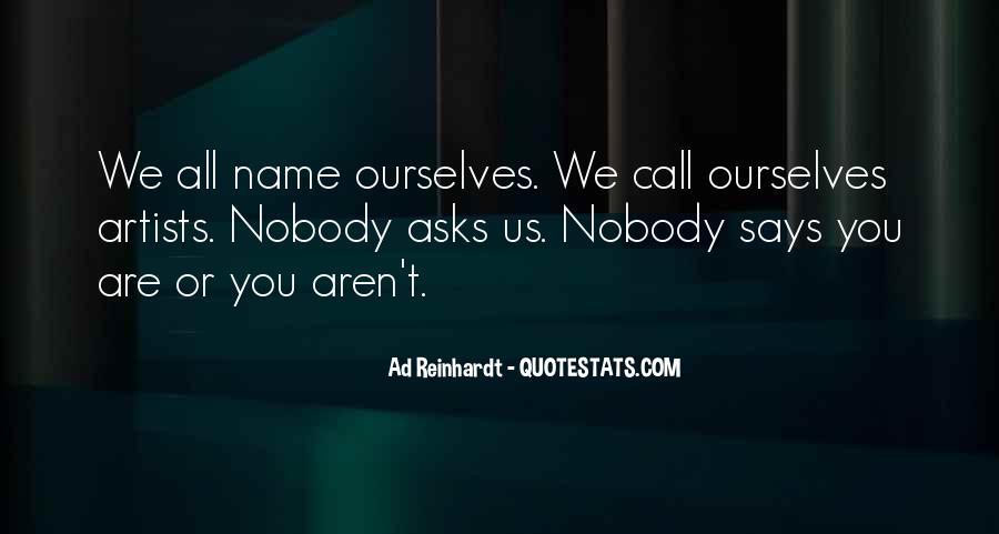 Best Ad Reinhardt Quotes #1711699