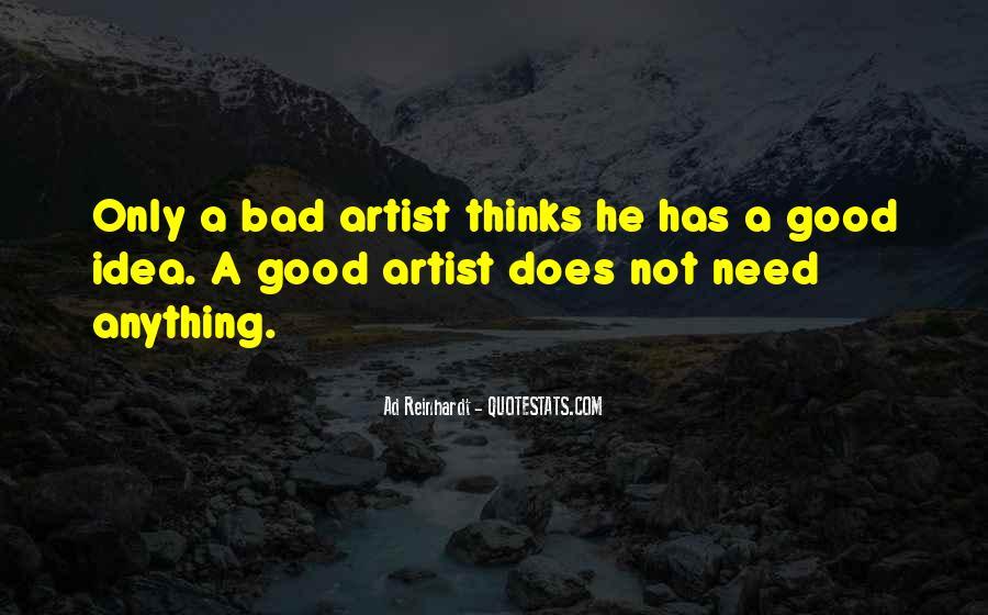 Best Ad Reinhardt Quotes #262040