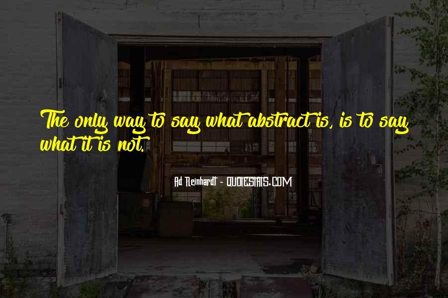 Best Ad Reinhardt Quotes #648232