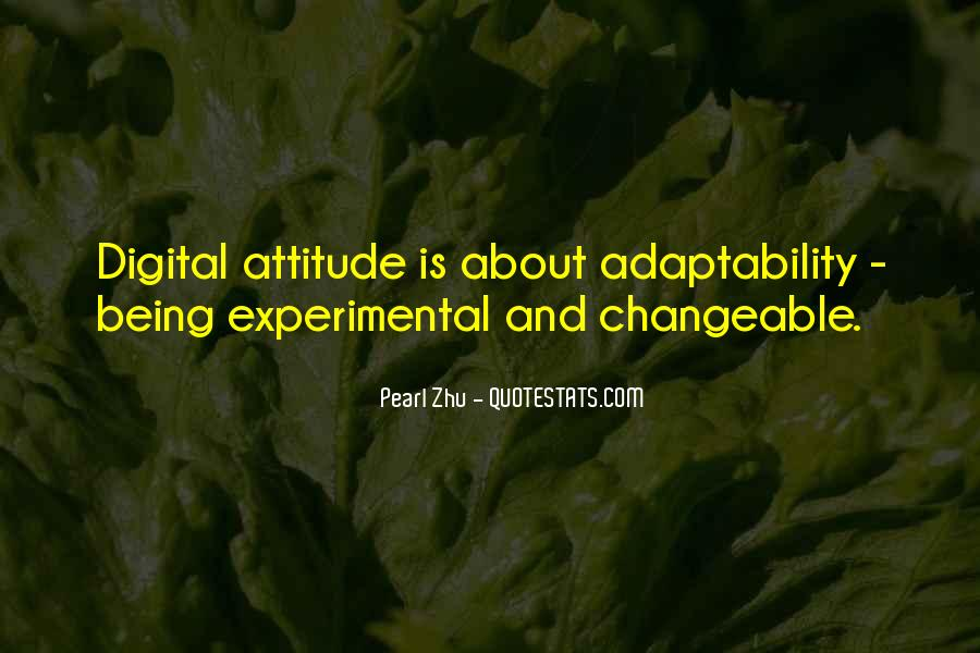 Best Adaptability Quotes #177265