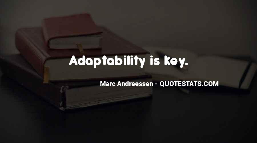 Best Adaptability Quotes #236092