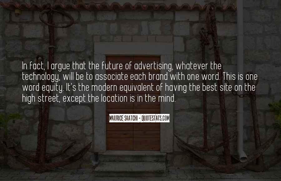 Best Advertising Quotes #1129689