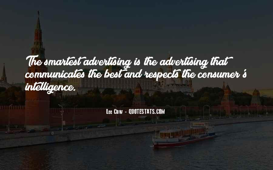 Best Advertising Quotes #148035