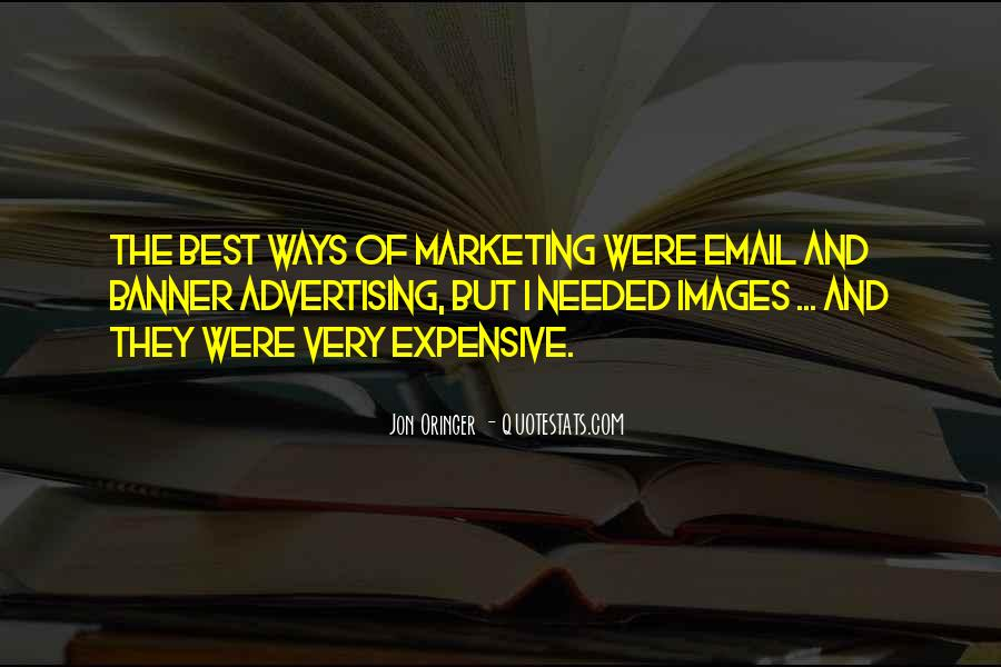 Best Advertising Quotes #216392