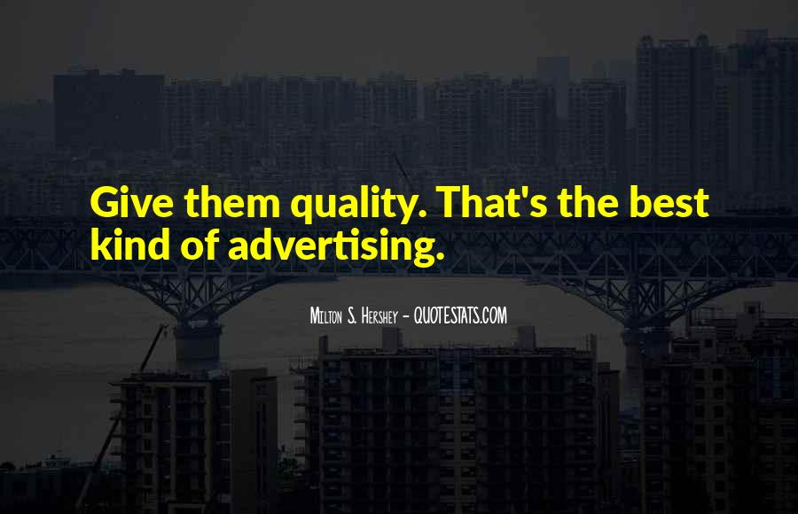 Best Advertising Quotes #357626