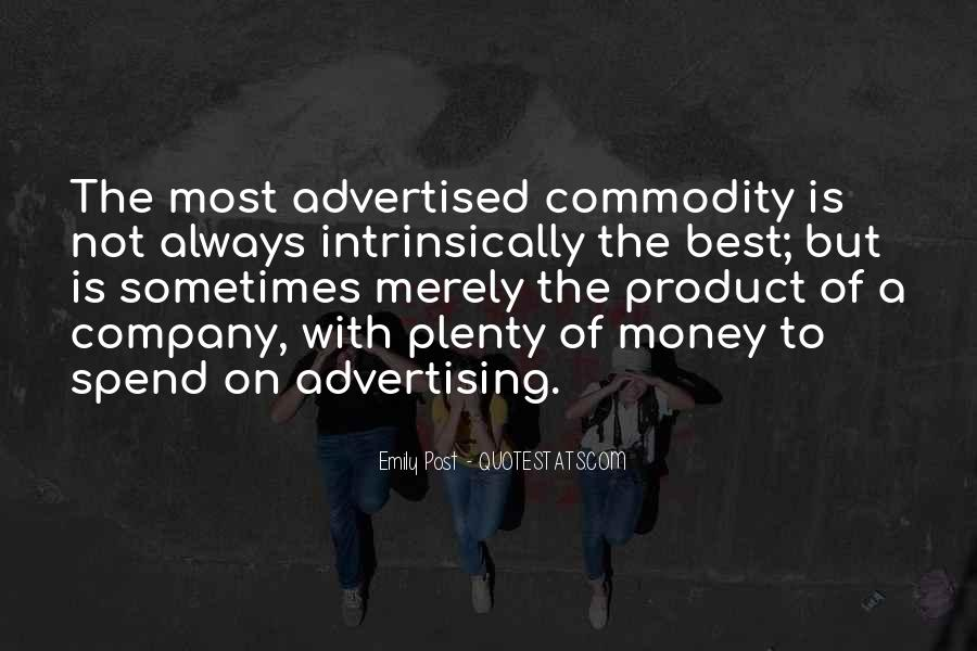 Best Advertising Quotes #977261