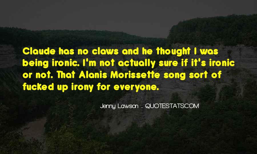 Best Alanis Morissette Song Quotes #1818541