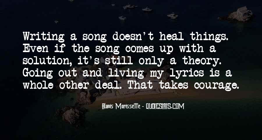 Best Alanis Morissette Song Quotes #8620