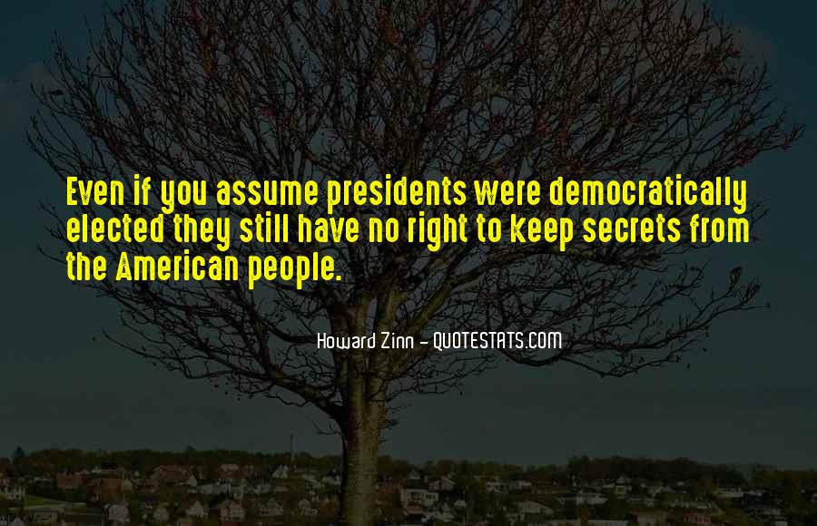Best American Presidents Quotes #2090
