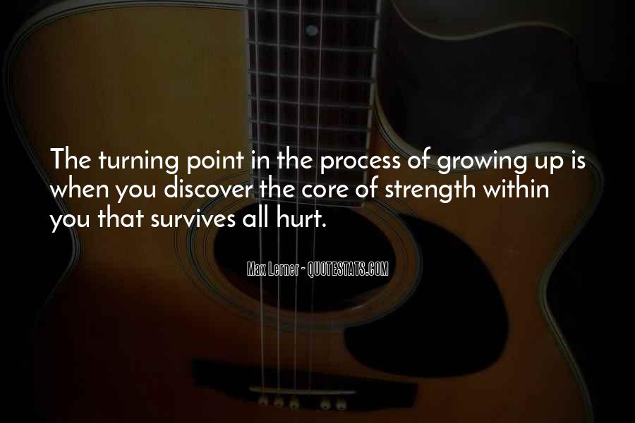 Quotes About The Turning Point #647947
