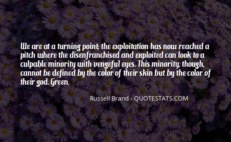 Quotes About The Turning Point #999445