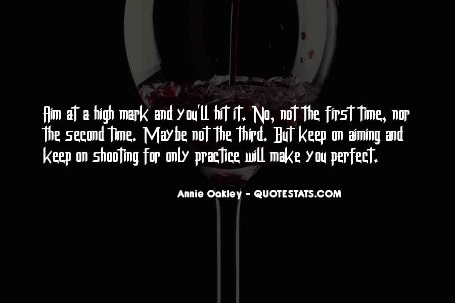 Best Annie Oakley Quotes #276607