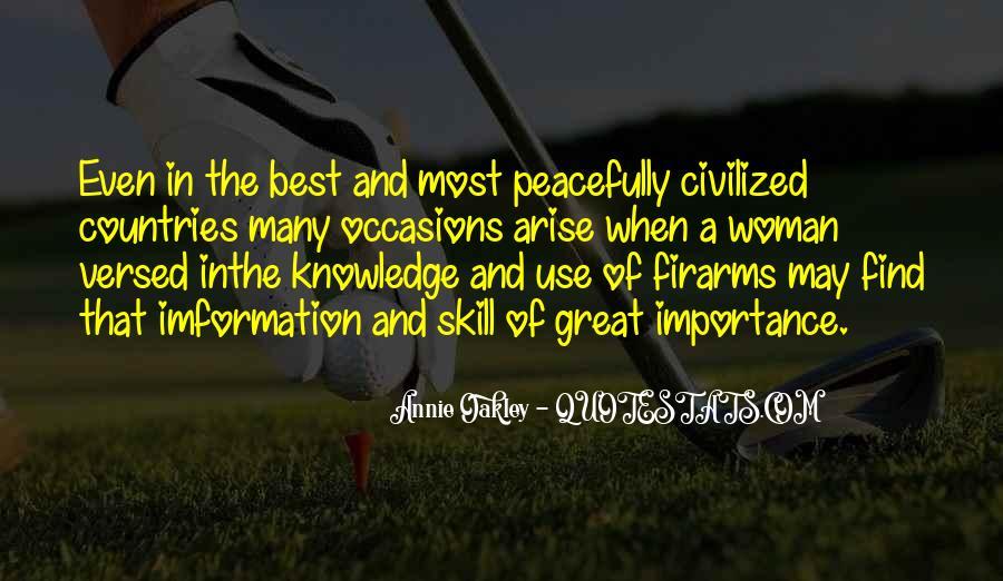 Best Annie Oakley Quotes #395596
