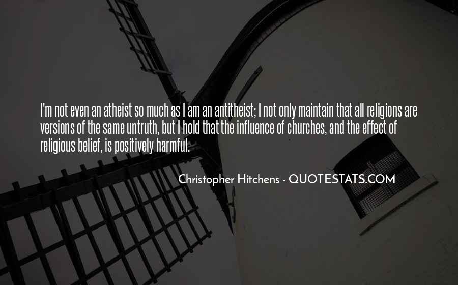 Best Antitheist Quotes #1513018