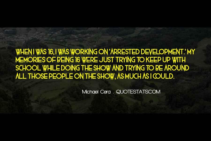 Best Arrested Development Quotes #138184
