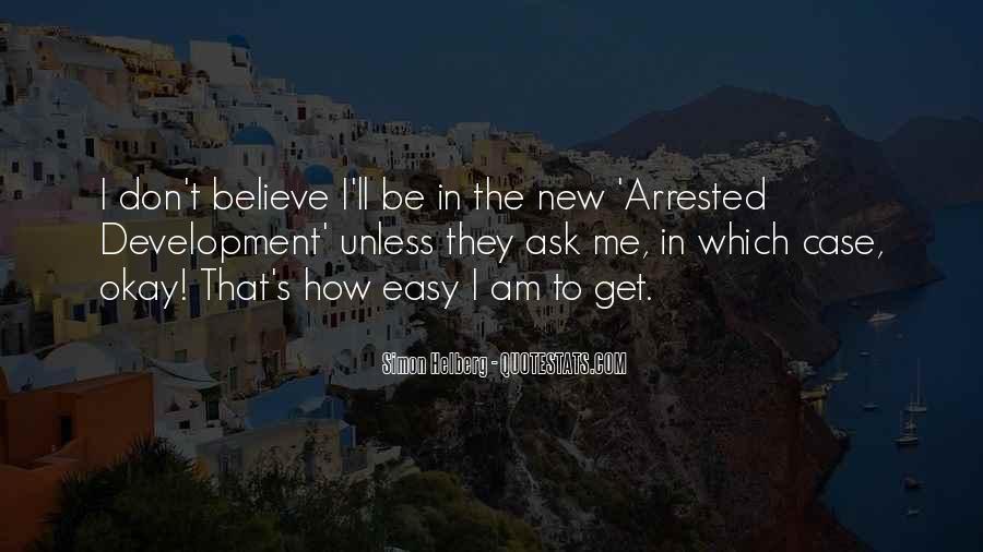 Best Arrested Development Quotes #823517