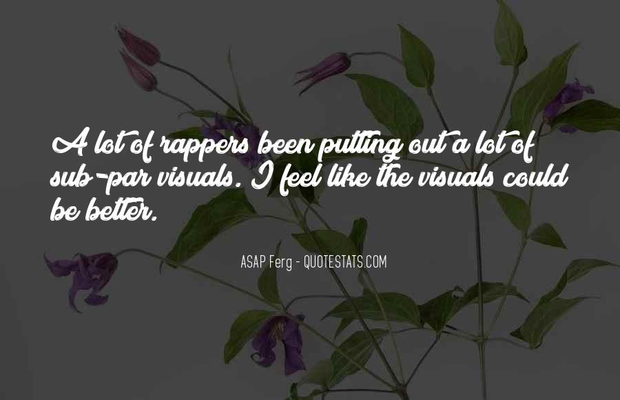Best Asap Ferg Quotes #766032