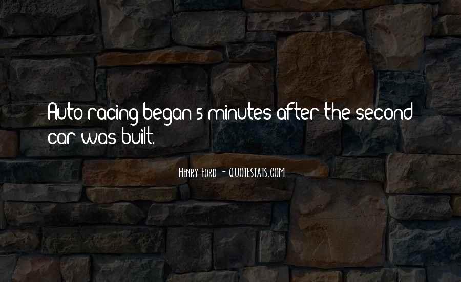 Best Auto Racing Quotes #1075319