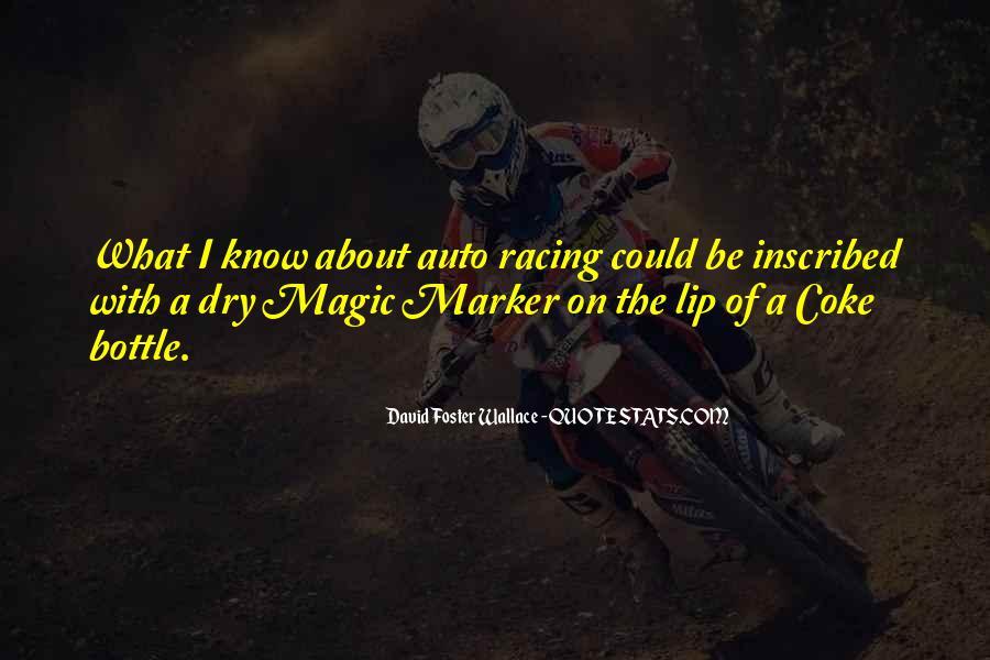 Best Auto Racing Quotes #1250616