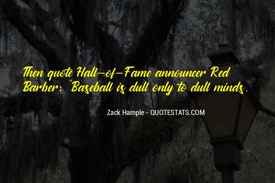 Best Baseball Announcer Quotes #875746