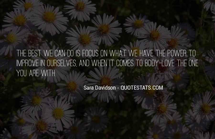 Best Body Love Quotes #1560102