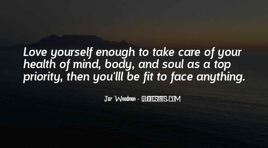 Best Body Love Quotes #26074