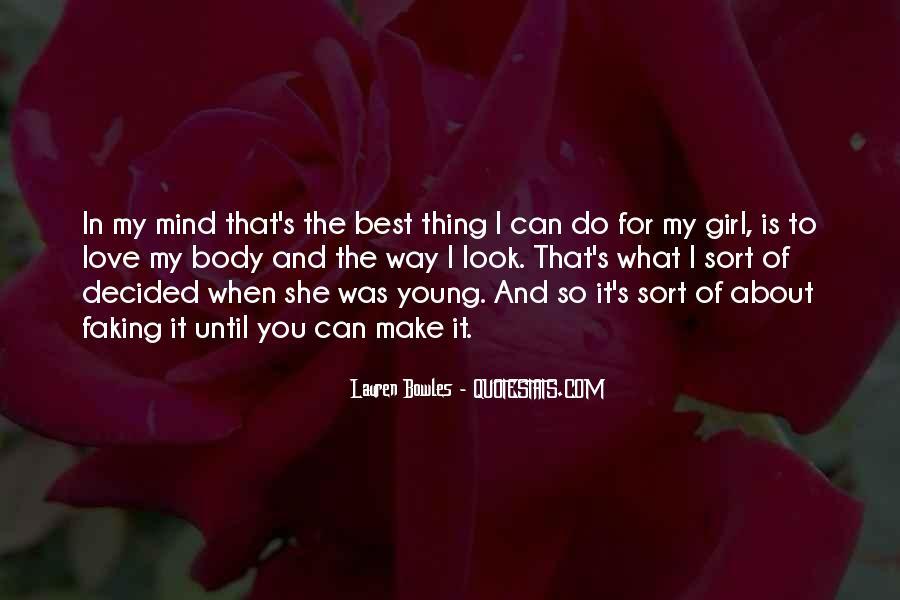 Best Body Love Quotes #289380