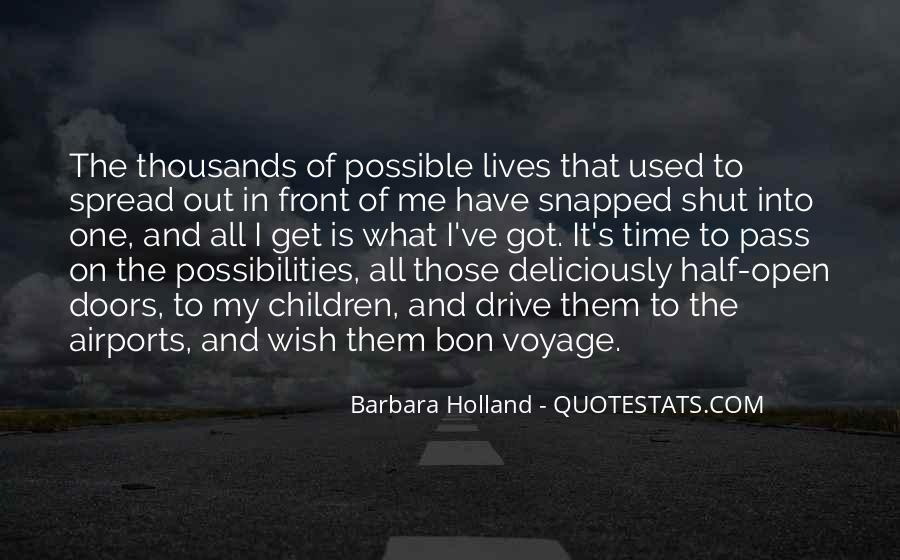 Best Bon Voyage Quotes #1005554