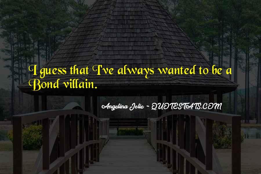 Best Bond Villain Quotes #1031358