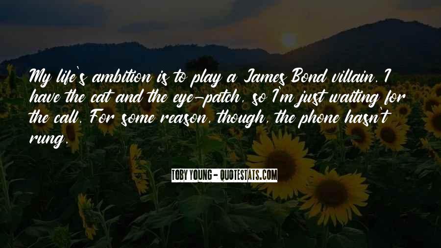 Best Bond Villain Quotes #1187689