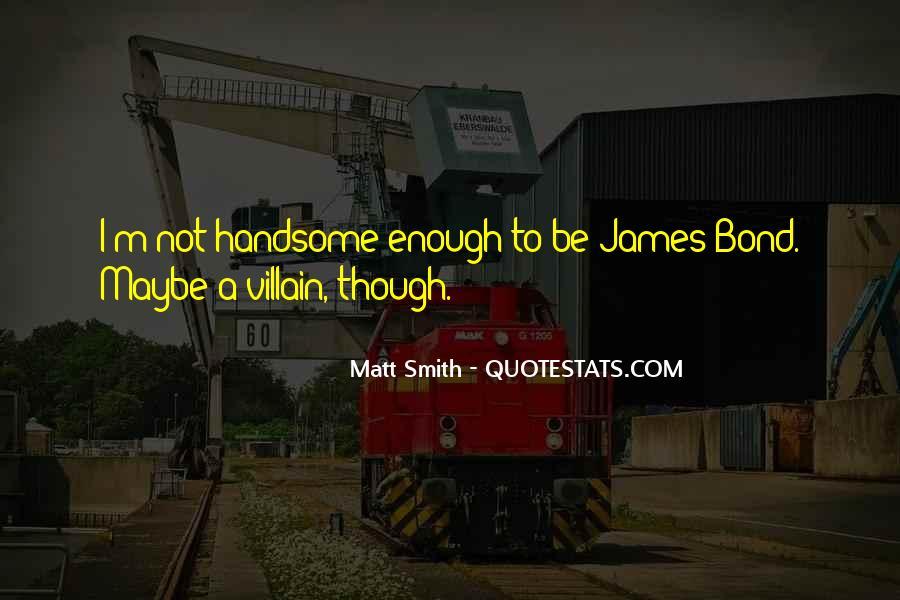 Best Bond Villain Quotes #1272532
